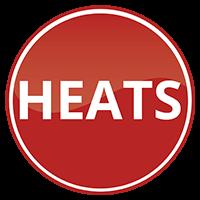 Heats indicator