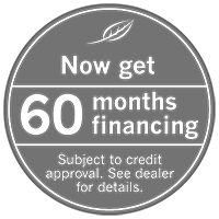 Now get 60 months financing